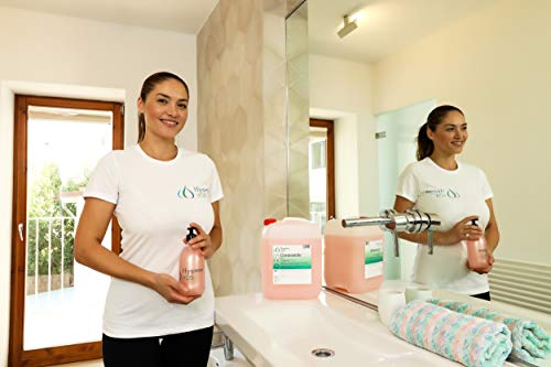 Hygiene VOS Cremeseife 10 Liter milde Waschlotion Seifencreme rosa für alle gängigen Druckspendersysteme und Seifenspender - 3