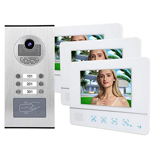 Videoportero IR-CUT con visor de puerta, para sistema de timbre, para(European standard (100-240v))