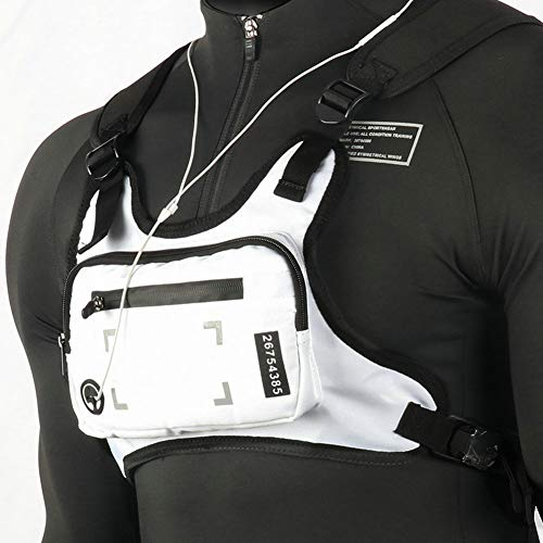 PAVEHAWK Running Backpack Vest Cell Phone and Accessories Holder Lightweight
