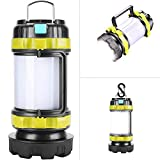 LED Camping Lantern,Flashlights Lanterns,Rechargeable Tent...