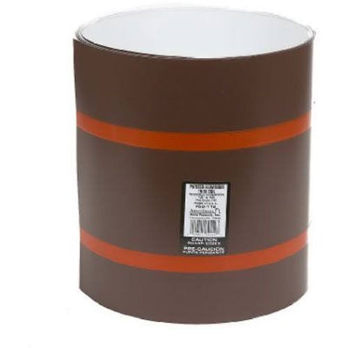 Amerimax Home Products 69114 24-In x 50-Ft Brown/White Aluminum Trim Coil by Amerimax Home Products