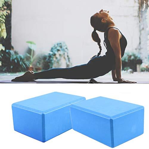 TUANTALL Bloque Yoga Yoga Block Yoga Block Ladrillos Yoga Bloque De Yoga De Espuma Yoga Kit De Iniciación Yoga Conjunto Bloques De Yoga Soporte para Yoga Yoga Bloques De Soporte Blue,1pc
