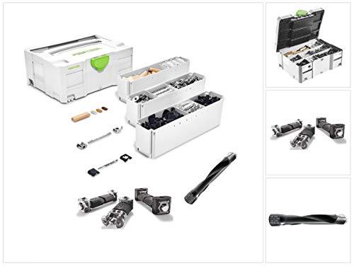 Festool 497871 - Assortimento di connettori ad angolo per fresa a tassello XL DF 700 e fresa (SV-SYS D14 (201353)