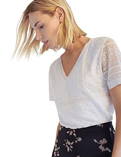 Javier Simorra Camiseta Rafael Blanco para Mujer 46
