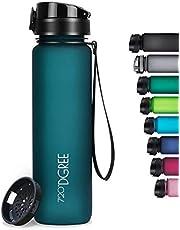 """720°DGREE Trinkflasche """"uberBottle"""" softTouch +Sieb - 350ml, 500ml, 650ml, 1000ml, 1,5l - BPA-Frei - Wasserflasche für Uni, Sport, Fitness, Fahrrad, Outdoor - Leichte Tritan Sportflasche"""