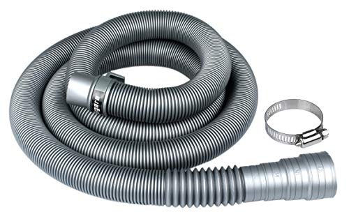 Washing Machine Drain Hose by Eligara   Long Discharge Pipe, Universal Fit All Washer Drain Hose Extension/Replacement Kit (6 Feet)