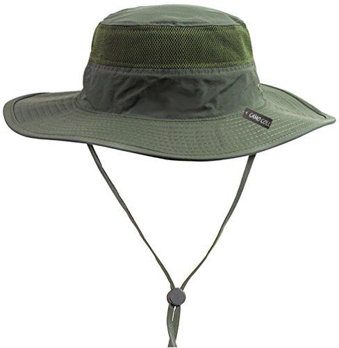 CAMO COLL Outdoor Sun Cap Camouflage Bucket Mesh...