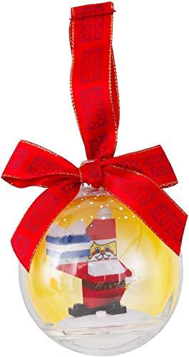 Lego christmas ornament santa
