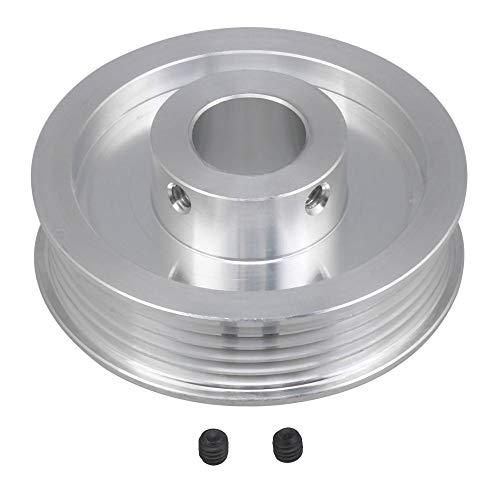 BQLZR Doppelseitige Riemenscheibe, 6061, Aluminium, PJ Multi Keilriemenscheibe, 16 mm Bohrung