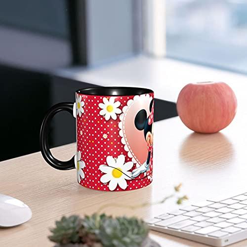 Regalos Originales Para Mujer Taza Café Infusioneso Decoración Mickey Mouse Hogar En Cerámica De Calidad 330ml