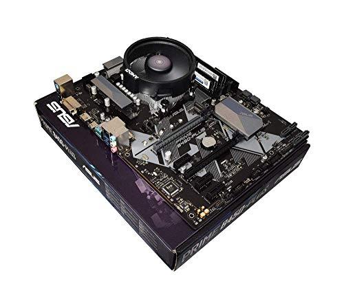 ADMI CPU placa base Upgrade Bundle: AMD Ryzen 5 2600 6 Core 3.9GHz con AMD Wraith Cooler, ASUS Prime B450-Plus AM4 ATX, 2400Mhz DDR4 RAM 0 RAM Ryzen 3 2200G