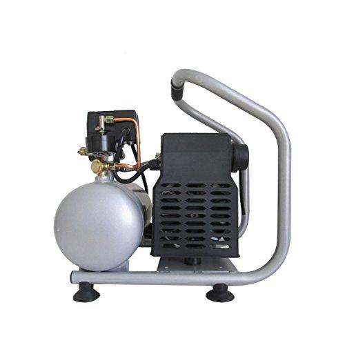 California Air Tools CAT-1P1060S Light & Quiet Portable Air Compressor, Silver
