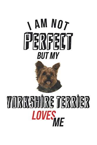 No soy perfecta, pero mi Yorkshire Terrier me quiere.: Diario, cuaderno, libro 100 páginas punteadas en tapa blanda para todo lo que quieras escribir y no te olvides