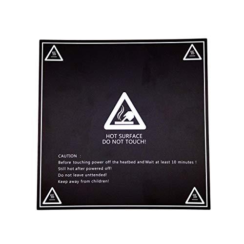 Papel de impresión 3D de alta calidad AptoFun para cama de calentamiento de impresora 3D / cama de impresión en azul (1pcs lámina de cama de calefacción)
