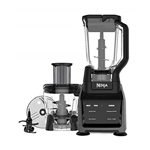 Ninja Intelli-Sense Kitchen System Blender Powerful 1200-Watt Motor Base with a Touch screen Display 72oz Pitcher 64oz Processor Bowl CT680CO2SS