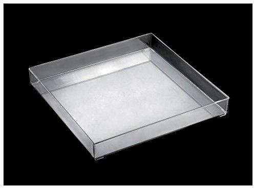 Gold Plast - Fashion Tablett, 1 Stück pro Verpackung. 300x300 mm durchsichtig