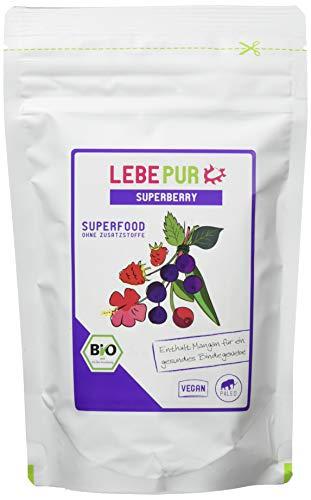 Lebepur Smoothiepulver Superberry - 6 Standbeutel à, 750 g
