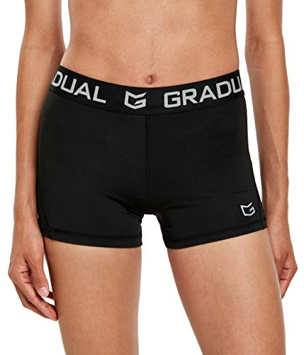 Women's Spandex Compression Volleyball Shorts 3