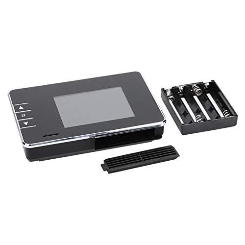 Chiwe Timbre de visión Nocturna, fácil de Instalar, Compatible con Alarma de bajo Voltaje, cámara de Timbre para Exteriores, para Captura de imágenes HD, grabación de Video