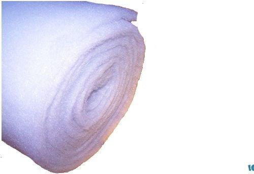 Love Aquatics 16ft Roll of Artificial Fake Snow Christmas Nativity Soft White Blanket