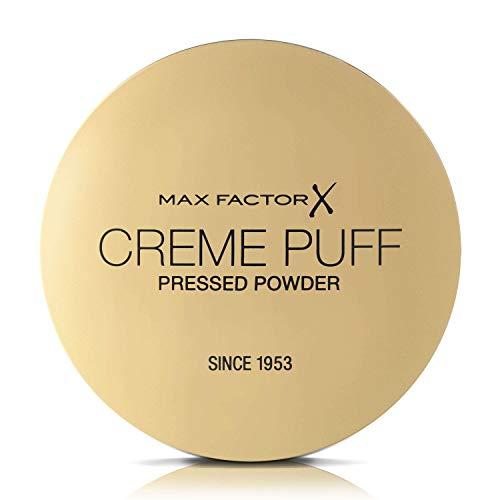 Max Factor Creme Puff, Cipria Compatta Effetto Matte, 042 Deep Beige