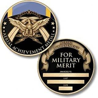 Aerial Achievement Medal Coin - Engravable