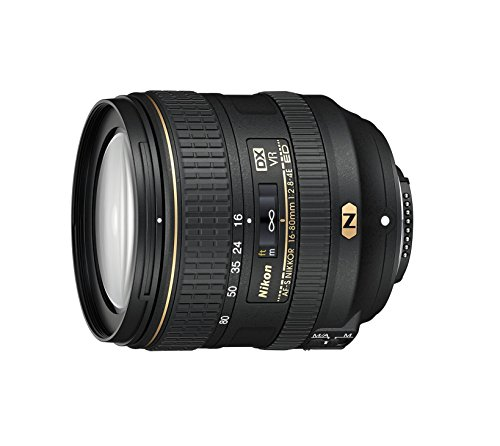 Nikon 16-80mm f/2.8-4E VR DX AF-S ED Zoom-NIKKOR Lens - (Renewed)