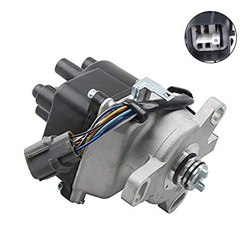 MOSTPLUS Ignition Distributor Compatible with 1996-2001 Acura Integra LS RS SE 1.8L OBD2 TD85U (1.8L Non-VTEC Engines)