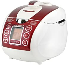 Cuchen Elvan Pressure Rice Cooker (10cup, Red)