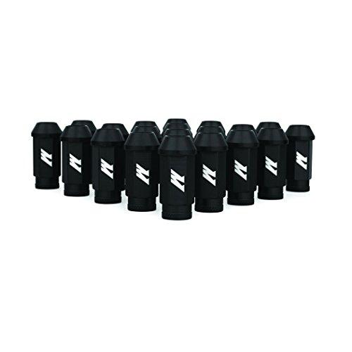 Mishimoto MMLG-15-LOCKBK Aluminum Locking Lug Nuts, M12 x 1.5, Black