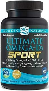 Nordic Naturals Ultimate Omega-D3 Sport. 1480 Mg
