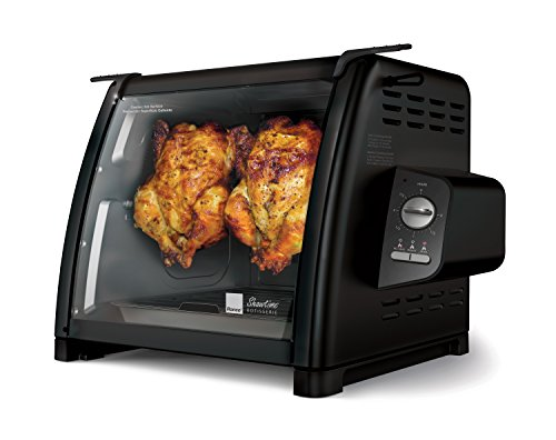 Ronco 5500 Series Rotisserie Oven, Black