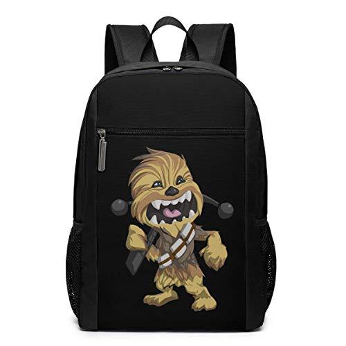 BAGGNICE Rucksäcke Daypacks Taschen, Che-wb-ACCA C-3-P-O St-AR W-ars School Backpack for Girls Boys Kids Teens, Unisex Lightweight Backpack for Men Women College Schoolbag Laptop Backpack