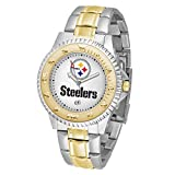 Game Time Pittsburgh Steelers NFL Two-Tone Competitor Series - Men's Watch