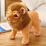 AaaSue Simulación de Felpa león muñeca Juguete niños Felpa decoración del hogar Adornos Accesorios de Estudio fotográfico