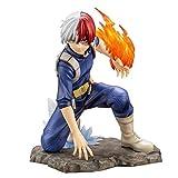 YIGEYI Mi héroe Academia: Shoto Todoroki Figura de acción Animado 6.5 Pulgadas de PVC Figuras de col...