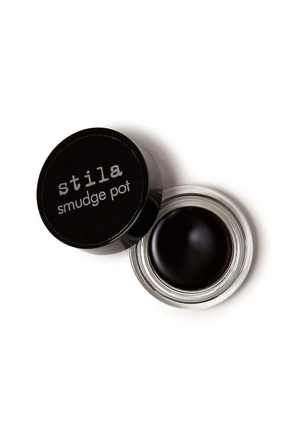 ラップ同様の増強するStila Smudge Pot - Black 0.14oz