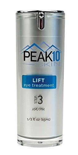 PEAK 10 SKIN - LIFT eye firming treatment 1/2oz