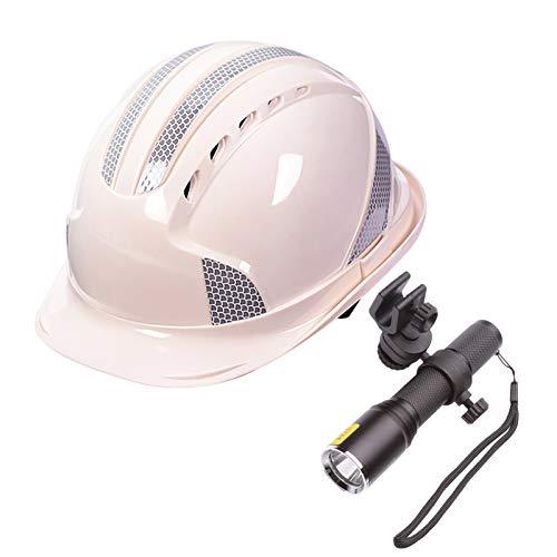 Cascos de Rescate al Aire Libre Casco, protección Civil Casco de Obra, Cascos de Rescate de terremoto de protección Reflectante ABS Engrosado