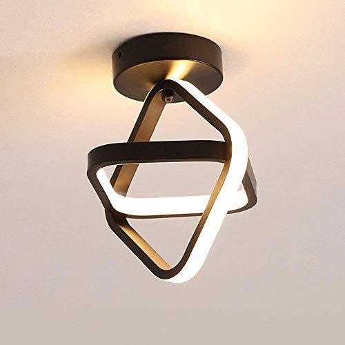 COCNI Lámparas de Techo Modernas con Pantalla acrílica Blanca Lámpara de Techo Cuadrada de Montaje Empotrado Sala de Estar Lámpara de araña Decorativa Comedor Dormitorio Lámparas Colgantes