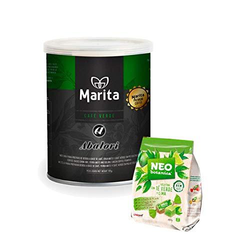 Pack ABALORI Café Marita Verde Con Herba Mate + Hoja de seguimiento + Pautas + REGALO BIO BOTANICA (1)