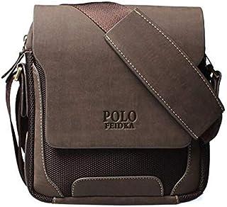فيدكا بولو حقيبة جانبية للرجال (بني)