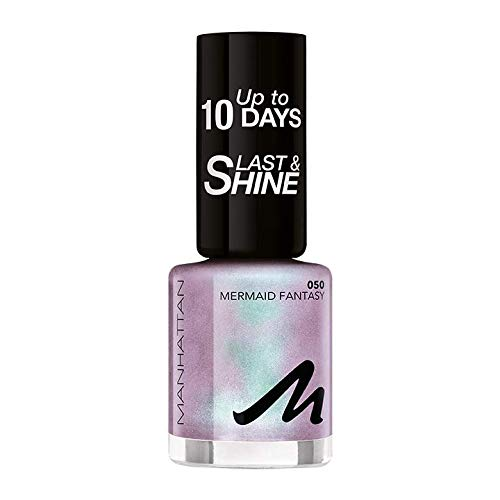 Manhattan Last und Shine Nagellack, Nr.50 Mermaid Fantasy, 1er Pack (1 X 10 ml)