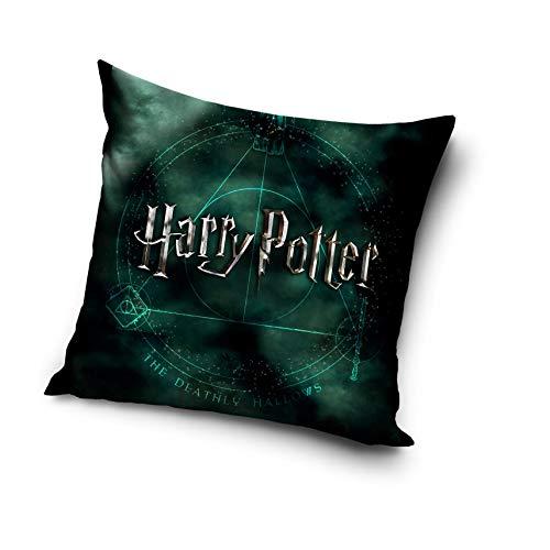 Harry Potter - Cojín (40 x 40 cm), 100% poliéster, Hp182006, 40 cm x 40 cm