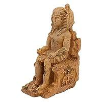 POPETPOP 水族館オーナメント樹脂エジプト飾り水槽装飾エジプト王tutankhamunファラオsarcophagus