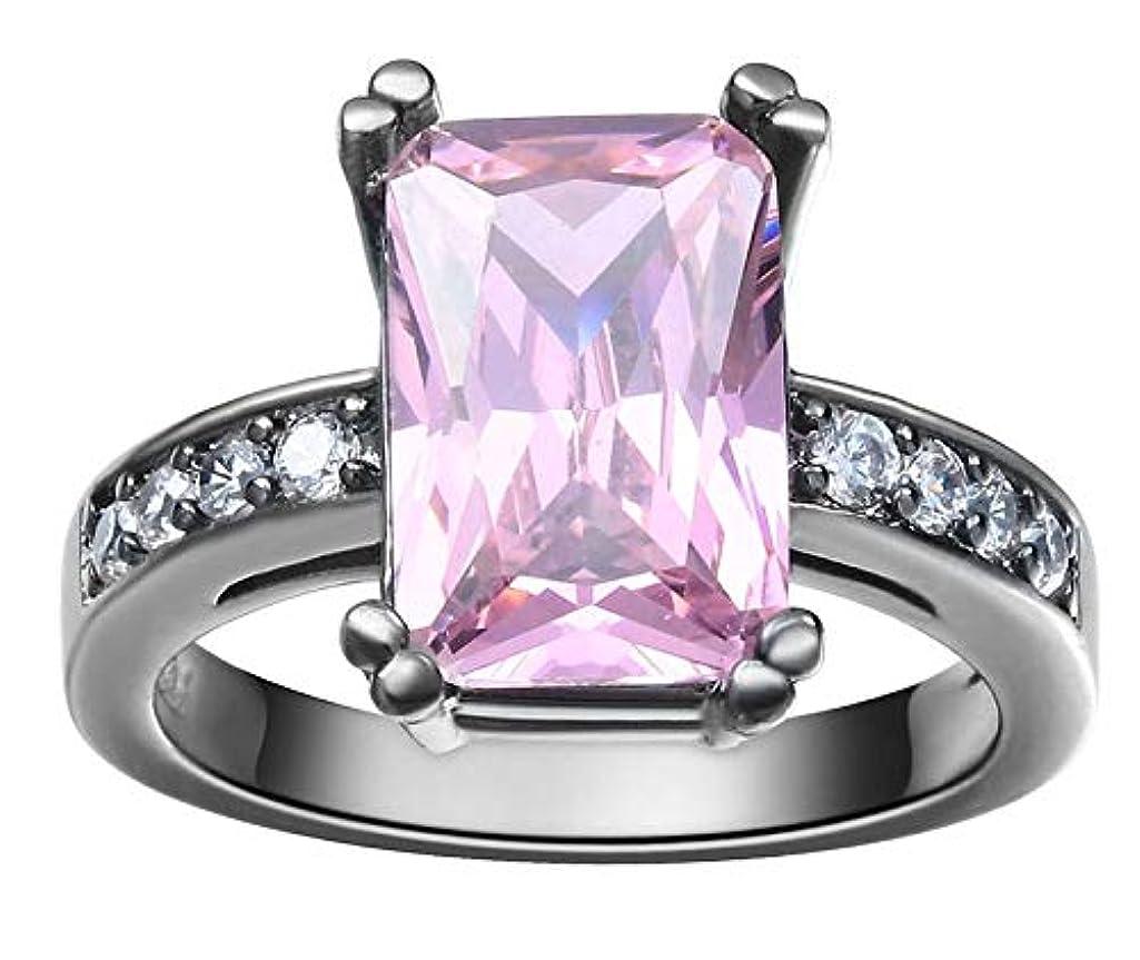 アーチ侮辱ブレースJK Home 指輪 リング 婚約指輪 レディース オシャレ 華奢 ファッション ジルコニア シルバー+パープル約11号