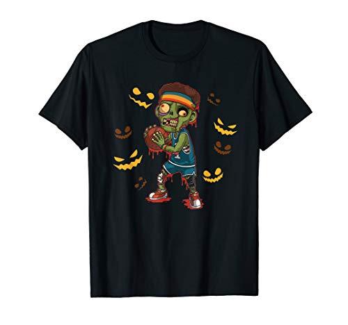 Basketball Zombie Funny Halloween Costume T-Shirt