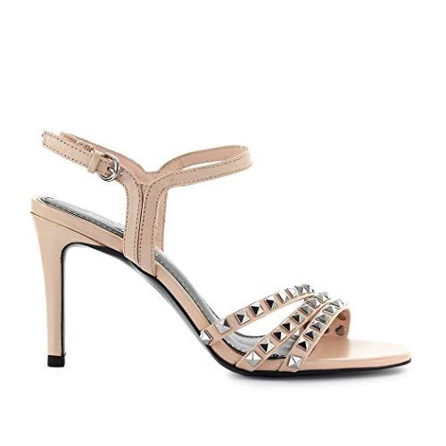 Ash Luxury Fashion Femme HELLO05 Rose Cuir Sandales | Automne-Hiver 19