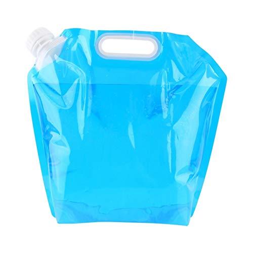 Jinyi Contenedor Portador de Agua para Exteriores, Bolsa de Agua portátil y práctica para Acampar de 0 ° C a 80 ° C para Picnic, Barbacoa para Acampar al Aire Libre, Senderismo