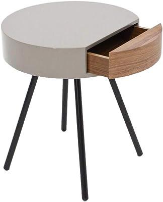 ベッドサイドテーブル、引き出し付き寝室ベッドサイド収納テーブルソファサイドテーブルシンプルモダンベッドサイドテーブル